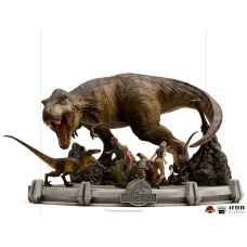 Jurassic Park: The Final Scene 1:20 Scale Diorama | Iron Studios