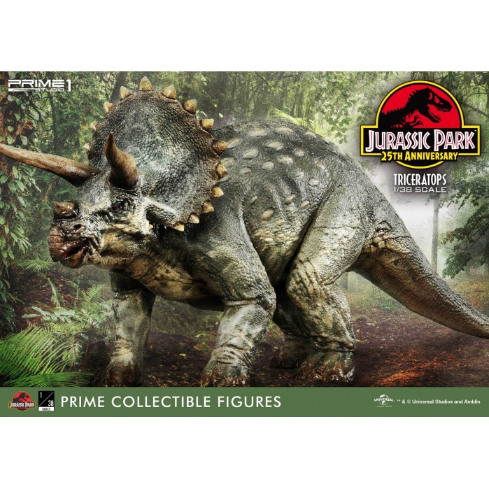 Jurassic Park: Triceratops 1:38 Scale PVC Statue Prime 1 Studio Product