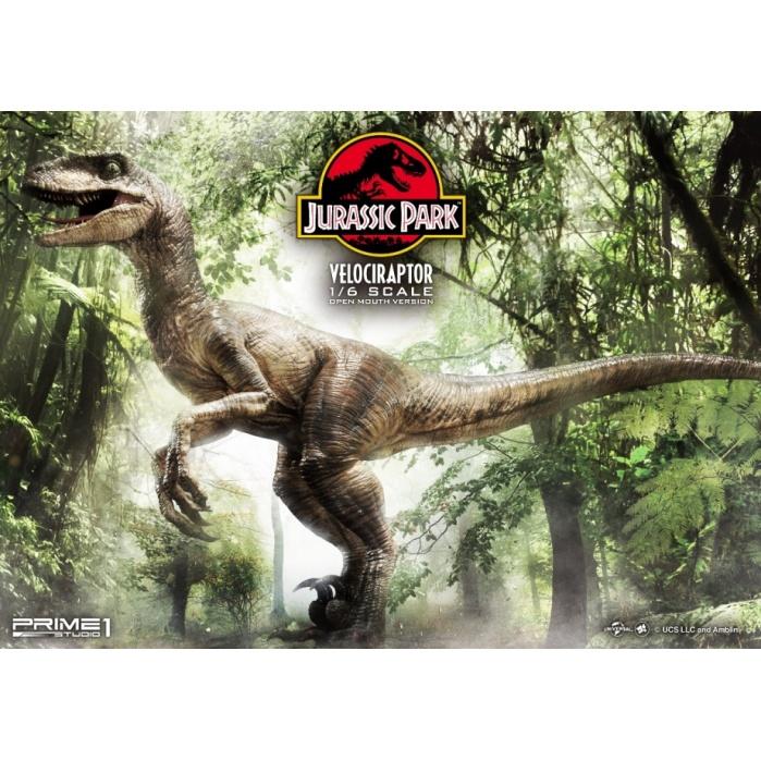 Jurassic Park: Velociraptor Open Mouth Version 1:6 Scale Statue Prime 1 Studio Product