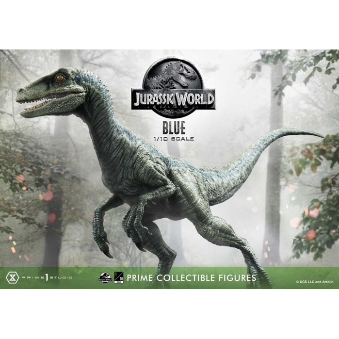 Jurassic World: Blue Open Mouth Version 1:10 Scale Statue Prime 1 Studio Product