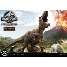 Jurassic World: Fallen Kingdom - Deluxe T-Rex and Carnotaurus 1:15 Scale Statue | Prime 1 Studio