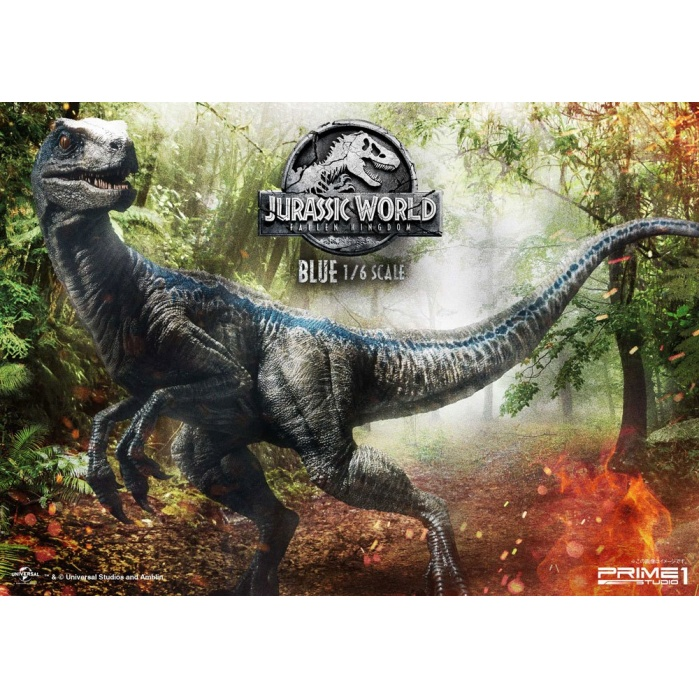 Jurassic World: Fallen Kingdom Statue 1/6 Blue 65 cm Prime 1 Studio Product