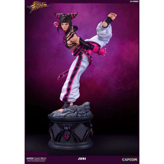 Juri Street Fighter IV Statue 1/4 Pop Culture Shock Product
