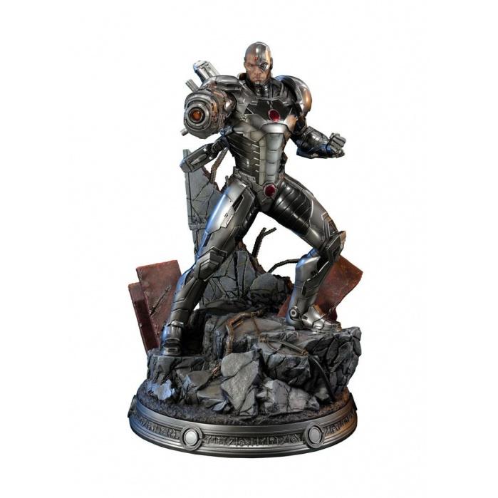 Justice League New 52 Statue Cyborg Prime 1 Studio Product