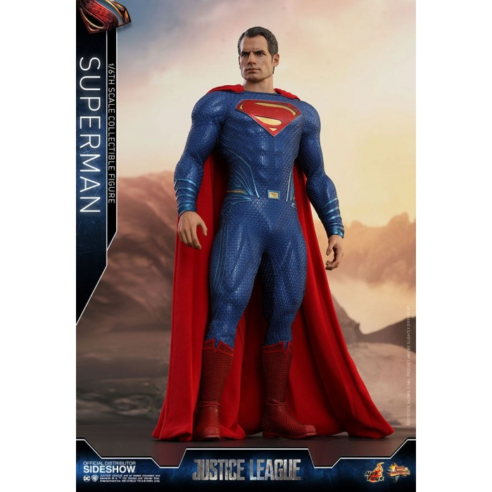 Justice League Superman 1/6 Figure Hot Toys Product