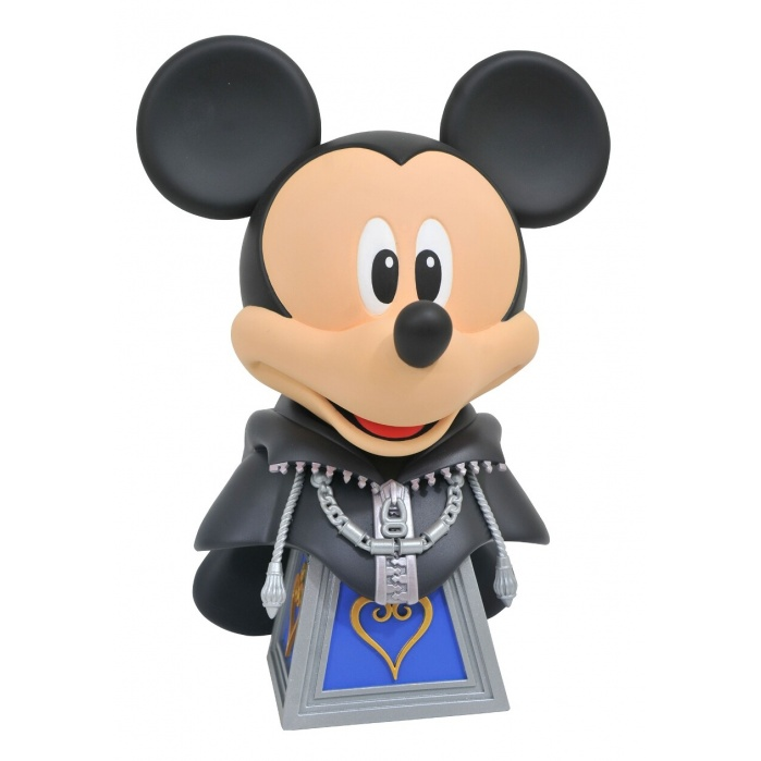 Kingdom Hearts: Legends in 3D - Mickey Mouse 1:2 Scale Bust Diamond Select Toys Product