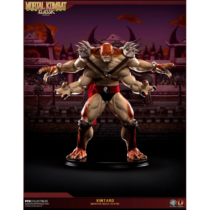 Kintaro Mortal Kombat 1:4 scale Statue Pop Culture Shock Product