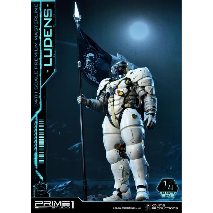 Kojima Productions: Ludens 1:4 Scale Statue Prime 1 Studio Product