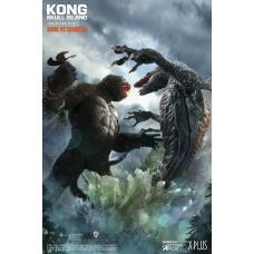 Kong: Skull Island - Deluxe Kong vs Skullcrawler Twin Statue | Star Ace Toys