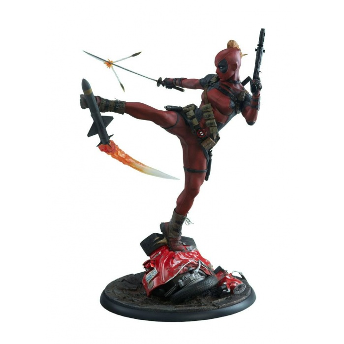Lady Deadpool  Premium Format statue Sideshow Collectibles Product