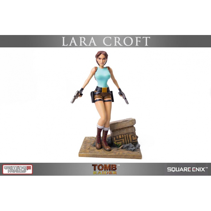 Lara Croft Tomb Raider Statue Gaming Heads Product