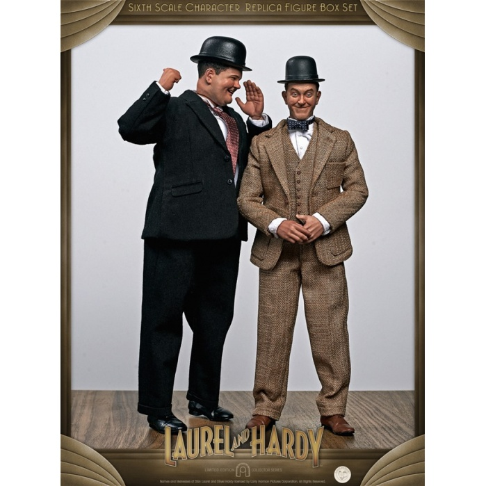 Laurel and Hardy: Classic Suits 1:6 Scale Figure Set Big Chief Studios Product