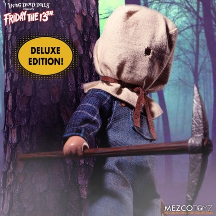 Living Dead Dolls: Deluxe Jason Voorhees Figure Mezco Toyz Product