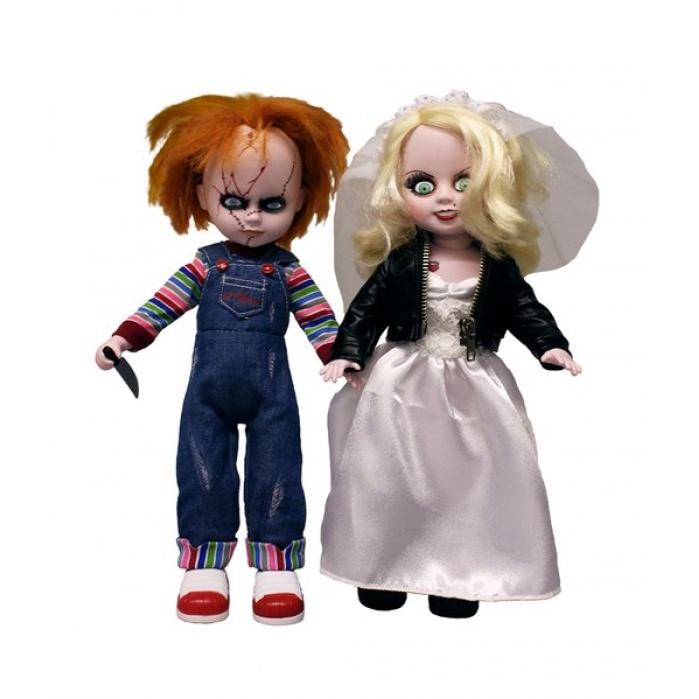 Living Dead Dolls Presents: Chucky & Tiffany 2 pack Mezco Toyz Product
