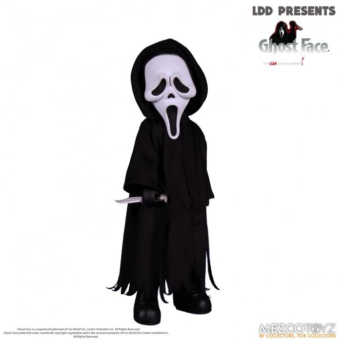 Living Dead Dolls: Scream - Ghostface 10 inch Action Figure Mezco Toyz Product