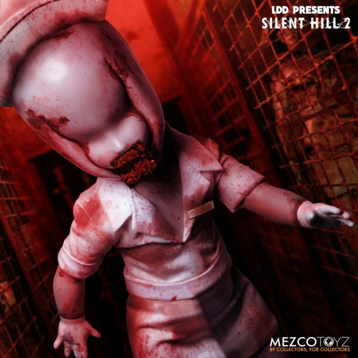 Living Dead Dolls: Silent Hill 2 - Bubble Head Nurse Mezco Toyz Product