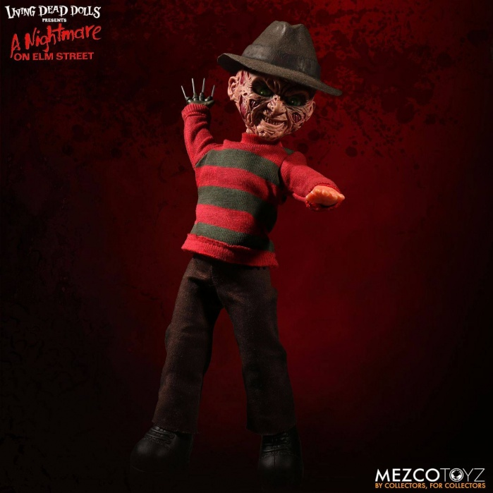 Living Dead Dolls Talking Freddy Krueger Mezco Toyz Product