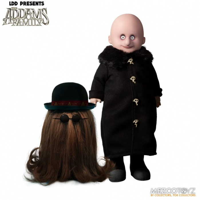 Living Dead Dolls: The Addams Family 2019 - Fester and Cousin It Figure Set Mezco Toyz Product