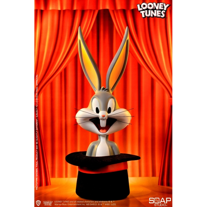 Looney Tunes: Bugs Bunny Top Hat Bust Soap Studio Product
