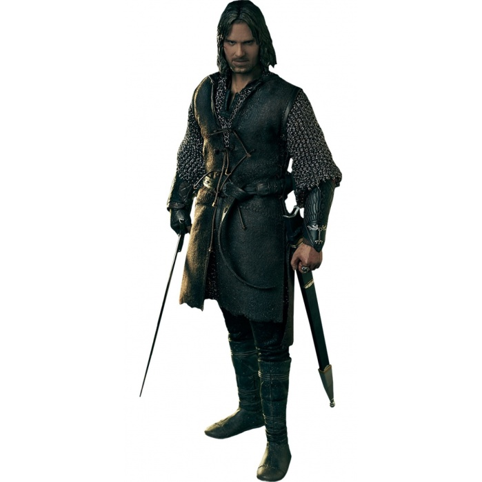 Lord of the Rings: Aragorn at Helm's Deep 1:6 Scale Figure Sideshow Collectibles Product