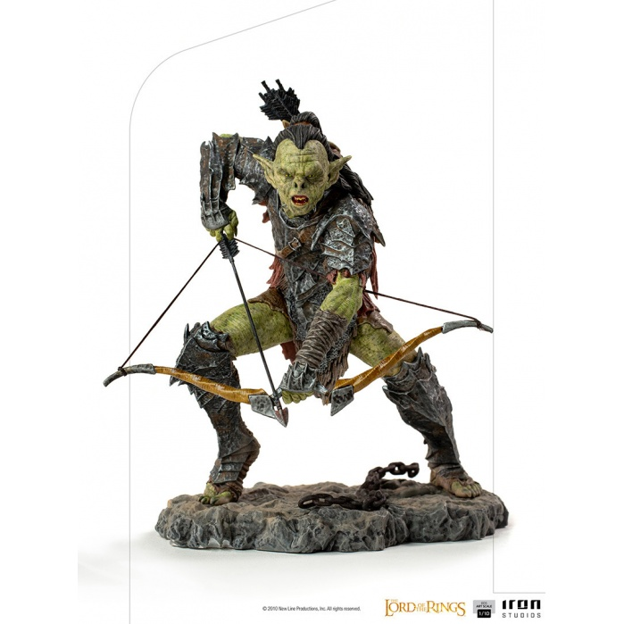 Lord of the Rings: Archer Orc 1:10 Scale Statue Iron Studios Product