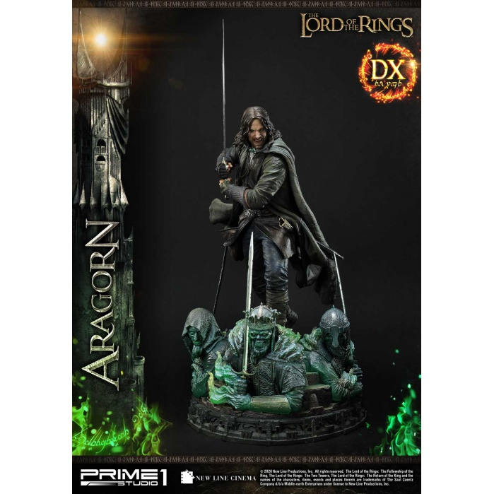 Lord of the Rings: Deluxe Aragorn 1:4 Scale Statue Prime 1 Studio Product