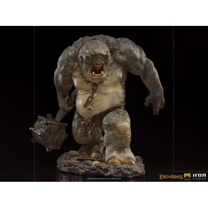 Lord of the Rings: Deluxe Cave Troll 1:10 Scale Statue Iron Studios Product