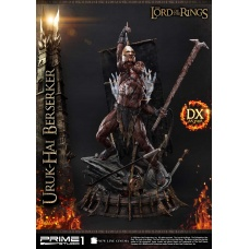 Lord of the Rings: Deluxe Uruk-hai Berserker 1:4 Scale Statue | Prime 1 Studio