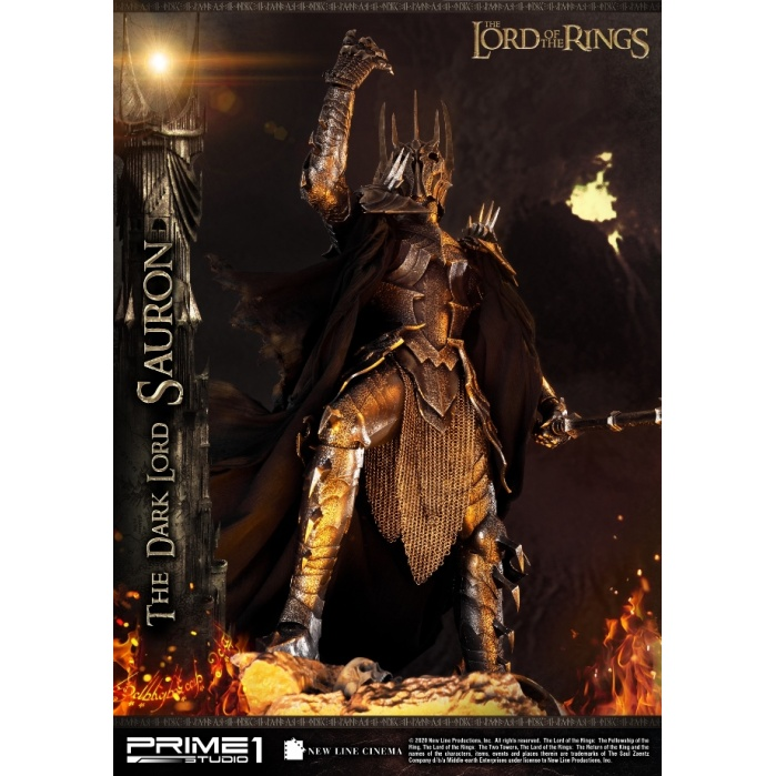 Lord of the Rings: Exclusive The Dark Lord Sauron 1:4 Scale Statue Prime 1 Studio Product