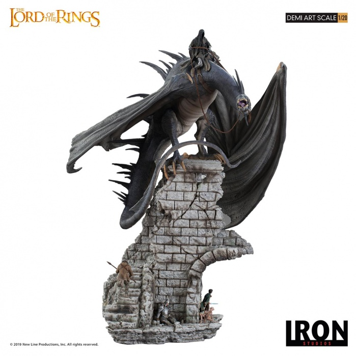 Lord of the Rings: Fell Beast 1:20 Scale Diorama Iron Studios Product