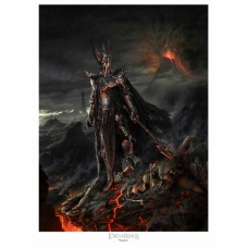 Lord of the Rings: Sauron Variant Unframed Art Print Small Size - Sideshow Collectibles (EU)