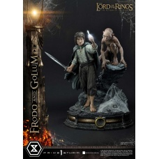 Lord of the Rings Statue 1/4 Frodo & Gollum Bonus Version | Prime 1 Studio