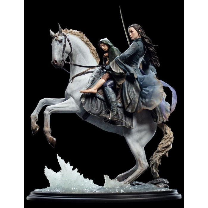 Lord of the Rings Statue 1/6 Arwen & Frodo on Asfaloth 40 cm Weta Workshop Product
