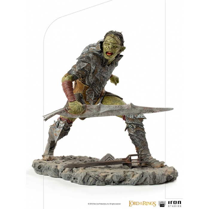 Lord of the Rings: Swordsman Orc 1:10 Scale Statue Iron Studios Product