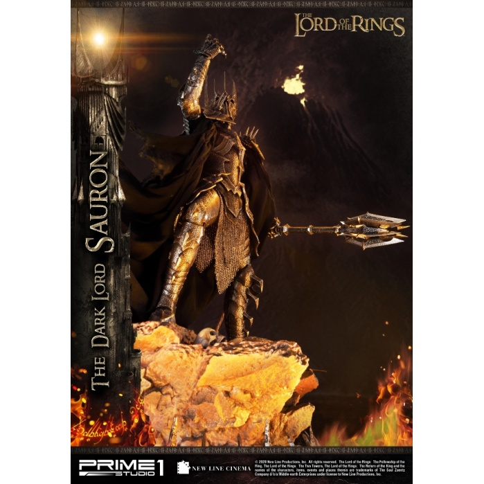 Lord of the Rings: The Dark Lord Sauron 1:4 Scale Statue Prime 1 Studio Product
