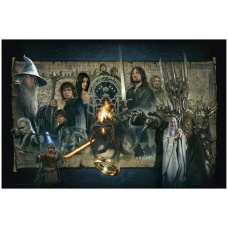 Lord of the Rings: The Fellowship of the Ring Unframed Art Print - Sideshow Collectibles (NL)