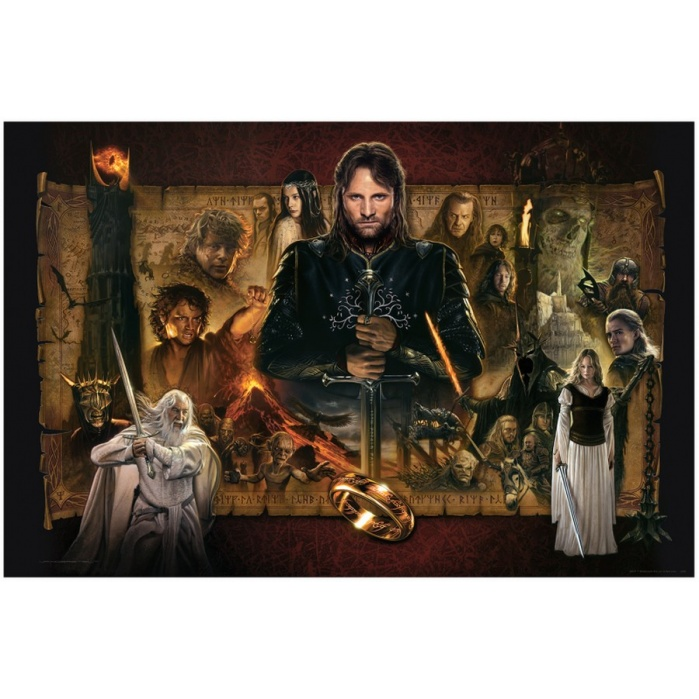 Lord of the Rings: The Return of the King Unframed Art Print Sideshow Collectibles Product