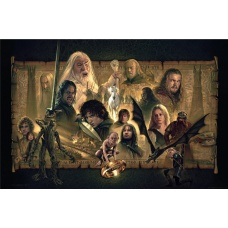 Lord of the Rings: The Two Towers Unframed Art Print - Sideshow Collectibles (NL)