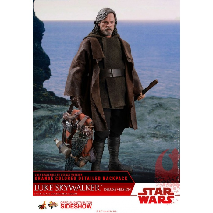 Luke Skywalker 1/6  Figure Deluxe Version Hot Toys Product