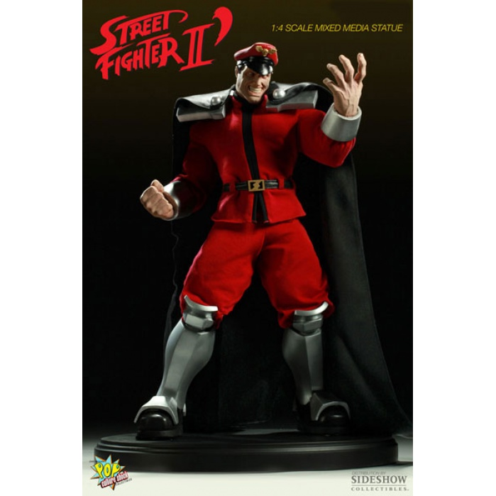 M. Bison 1/4 scale Mixed Media Statue Pop Culture Shock Product