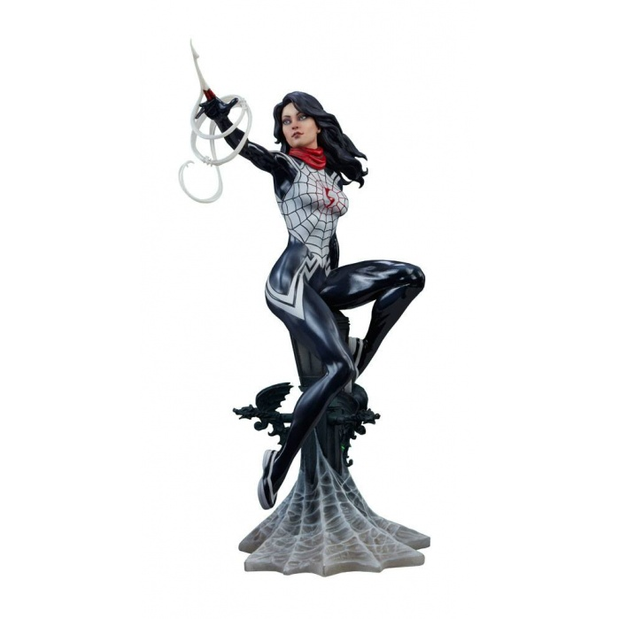 Mark Brooks Artist Series Statue Silk Sideshow Collectibles Product