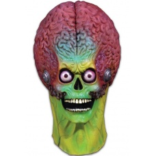 Mars Attacks: Soldier Martian Mask Trick or Treat Studios Product Image