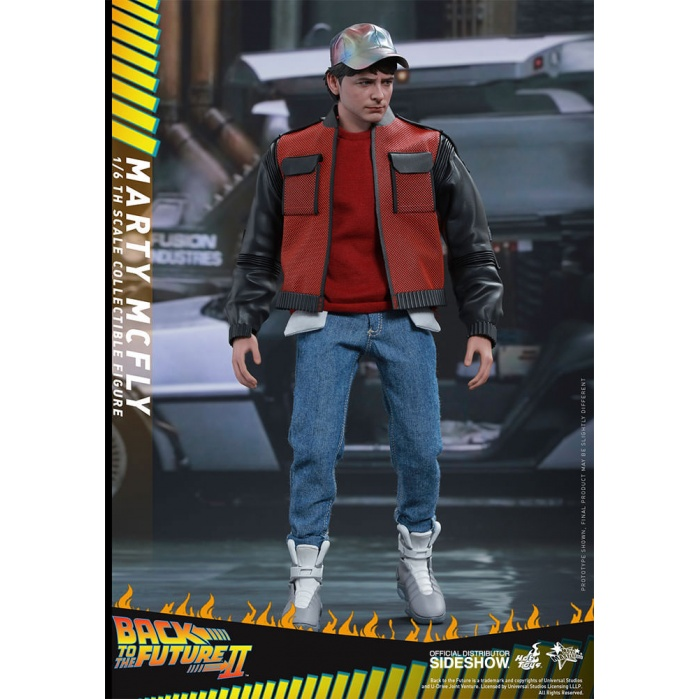 Marty McFly Back to the Future II Hot Toys Product