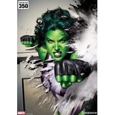 Marvel Art Print She-Hulk 46 x 61 cm - unframed - Sideshow Collectibles (EU)