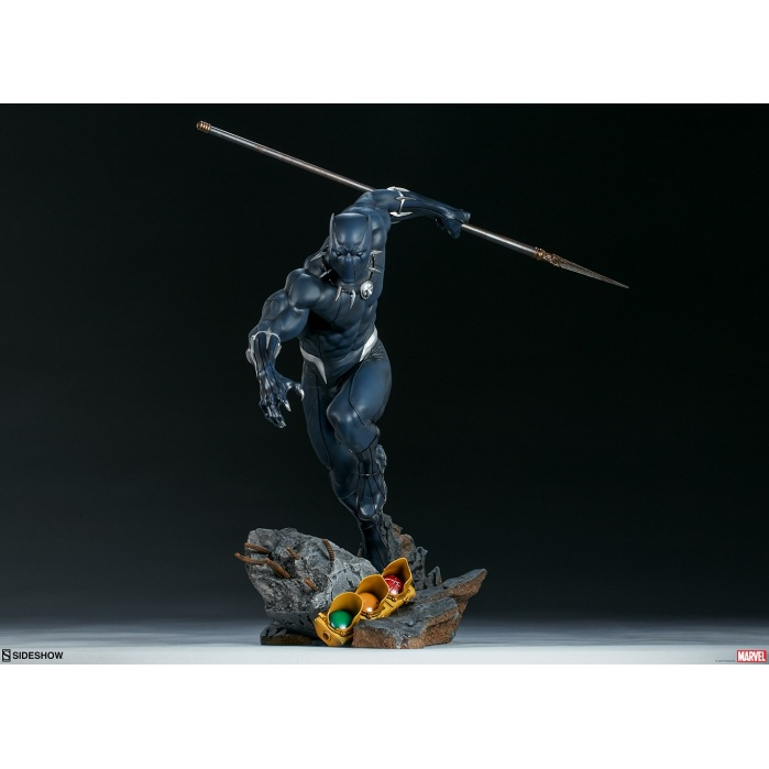 Marvel: Avengers Assemble - Black Panther 1:5 scale Statue Sideshow Collectibles Product