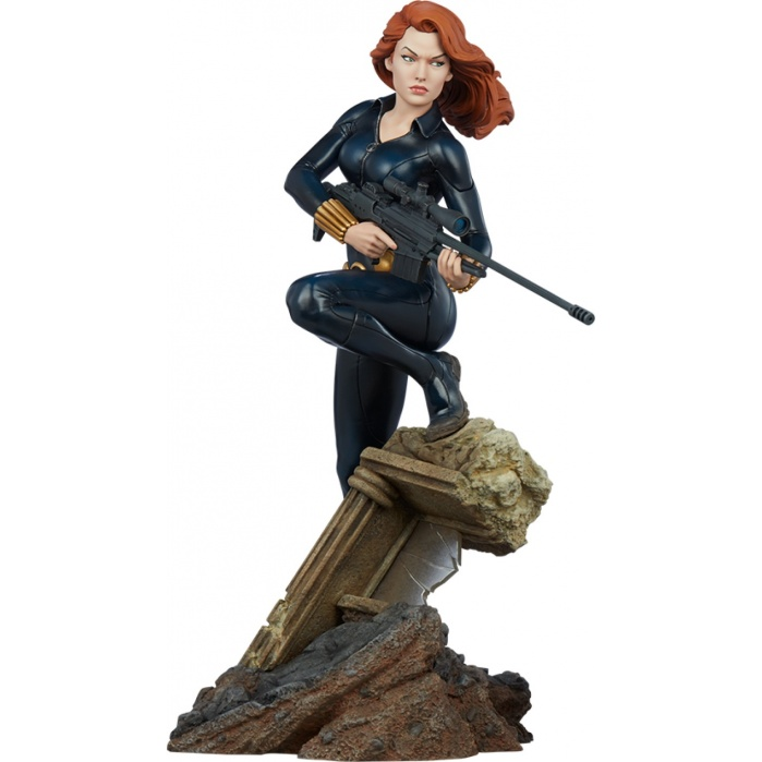 Marvel: Avengers Assemble Black Widow 1:5 Scale Statue Sideshow Collectibles Product
