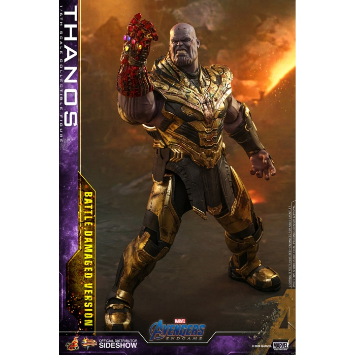 Marvel: Avengers Endgame - Battle Damaged Thanos 1:6 Scale Figure Hot Toys Product
