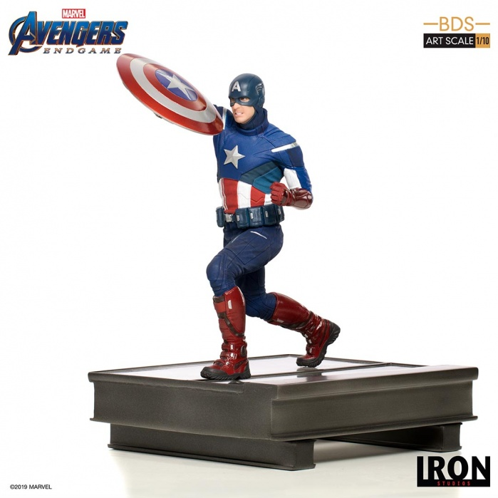 Marvel: Avengers Endgame - Captain America 2012 1:10 Scale Statue Iron Studios Product