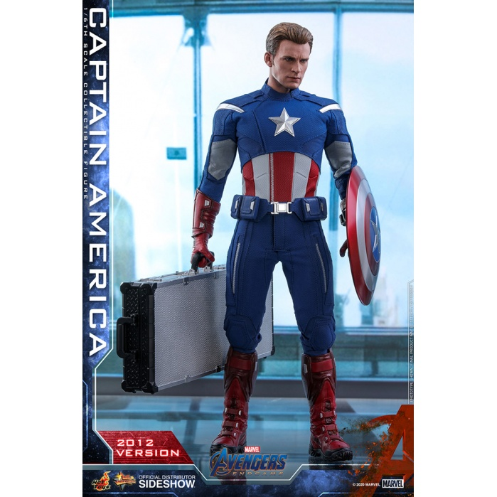 Marvel: Avengers Endgame - Captain America 2012 1:6 Scale Figure Hot Toys Product
