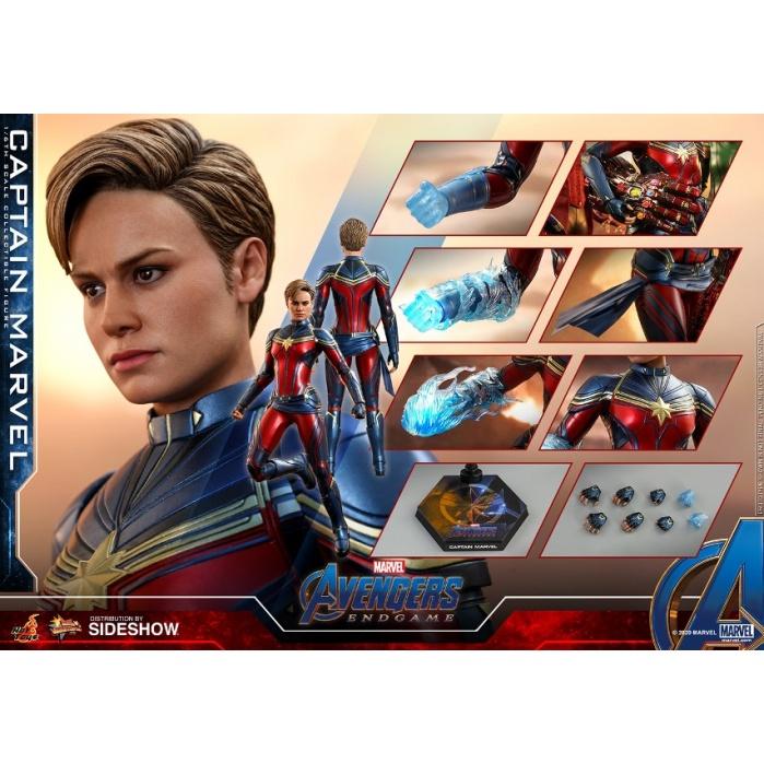 Marvel: Avengers Endgame - Captain Marvel 1:6 Scale Figure Hot Toys Product